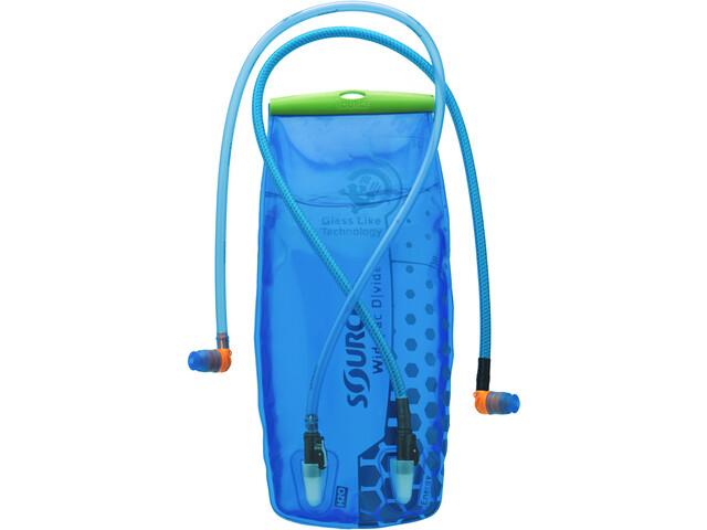 Klettergurt Gelbox : Source divide widepac trinkblase 3 liter transparent blue campz.de